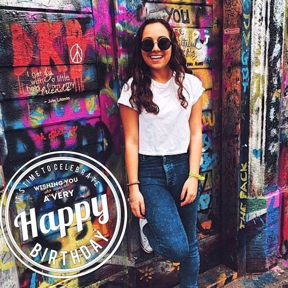 Happy Birthday to our very own Membership Vice President Alessandra!! We hope your birthday is as bright and beautiful as you are  #gammaphibeta #gphi #gphib #sju #sjunow #studyabroad #mvp by gammaphibetasju