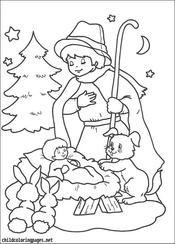 Christmas Coloring Pages 067 - http://pages-coloring.com/christmas-coloring-pages-067/?Pinterest