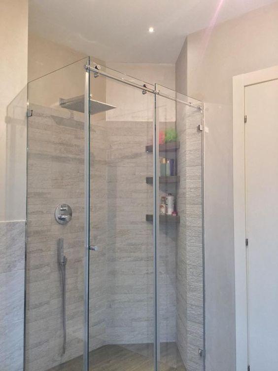 bagno con doccia  I miei progetti su www.cosedicasa.com ...