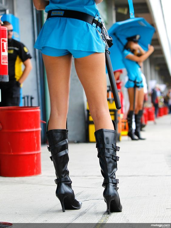 Grid Girls - Page 5 - Fast Bikes