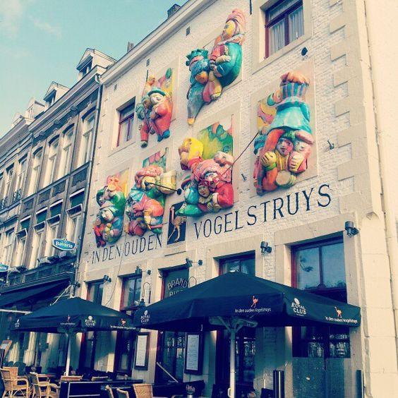 I #Love #Europe :) #building #Maastricht #Netherlands #sunny #clown #travel - @angeruu- #mtricht #univercity #carnival #carnaval #vogelstruys #struys