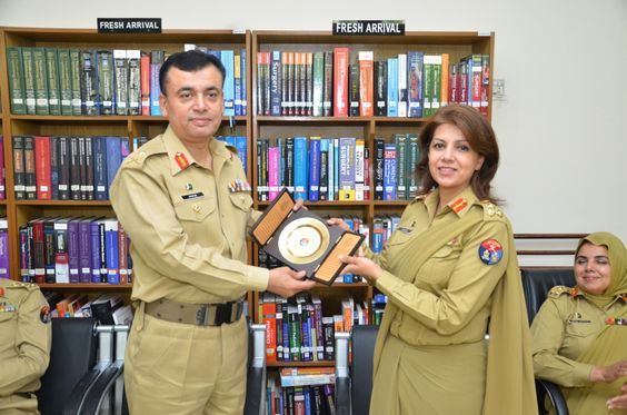 Male Doctor Major General And Female Doctor Brigadier Officers