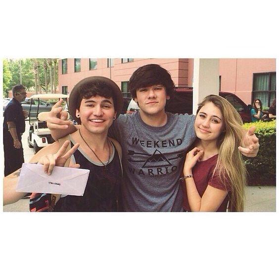 jc caylen, jake foushee, and lia johnson | YouTubers ...