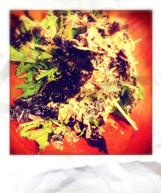 水菜バリバリ食べれました(o˘◡˘o) 美味しいレシピありがとうございました - 64件のもぐもぐ - ことちゃんの水菜の和風サラダ by an2012