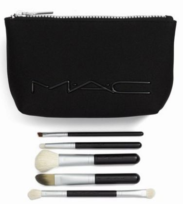 MAC 'look in a box - advanced' brush kit