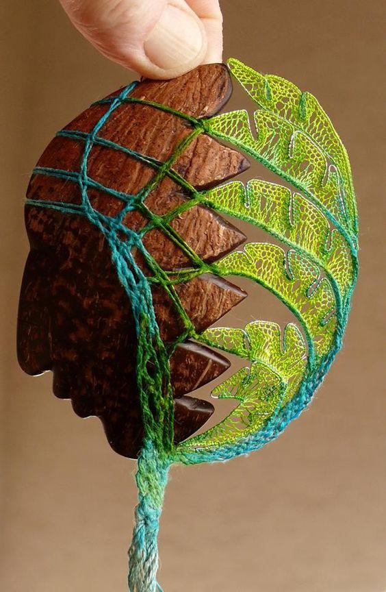 Волшебные инсталляции из нитей от Агнес Герцлед - Ярмарка Мастеров - ручная работа, handmade: