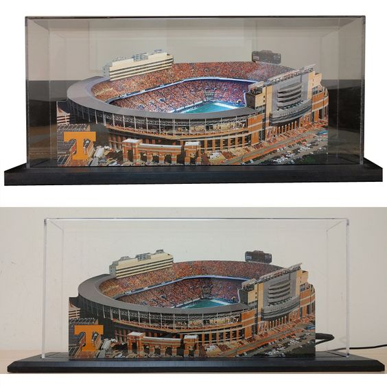 3D Lighted Neyland Stadiums with Case