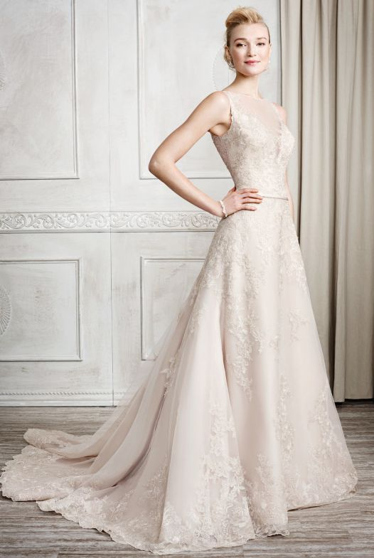 Featured Dress: Kenneth Winston; Wedding dress idea.