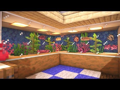 How To Make An Aquarium In Minecraft