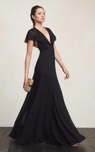elegant black dresses black tie and ties on pinterest