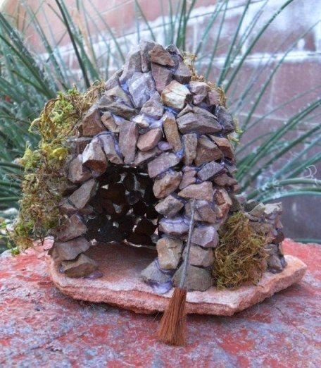 Домики для фей из природных материалов - Сайт для мам малышей