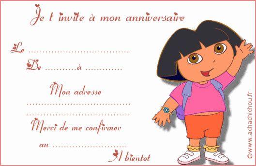modele carte invitation anniversaire