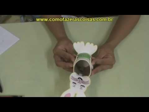 coelho de Páscoa com EVA
