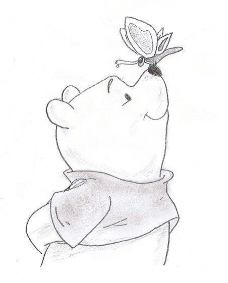 Winne The Pooh Cute Drawing Disney Art Drawings Disney Drawings