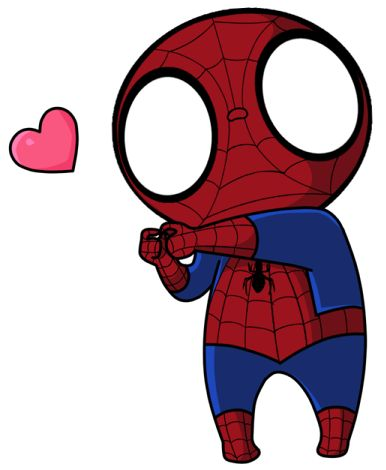"""Résultat de recherche d'images pour """"chibi spiderman"""""""