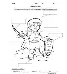 Aula- Armadura de Deus :: Crianças & Adoração
