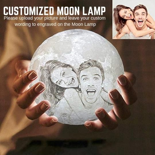 Customized 3d Enchanting Moon Lamp Mindbodyspiritcentral Com Diy Gifts For Boyfriend Mother Birthday Gifts Boyfriend Gifts