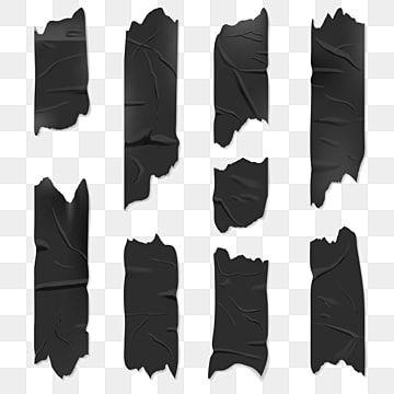 Fitas Png Images Vetores E Arquivos Psd Download Gratis Em Pngtree Free Graphic Design Black Duct Tape Torn Paper