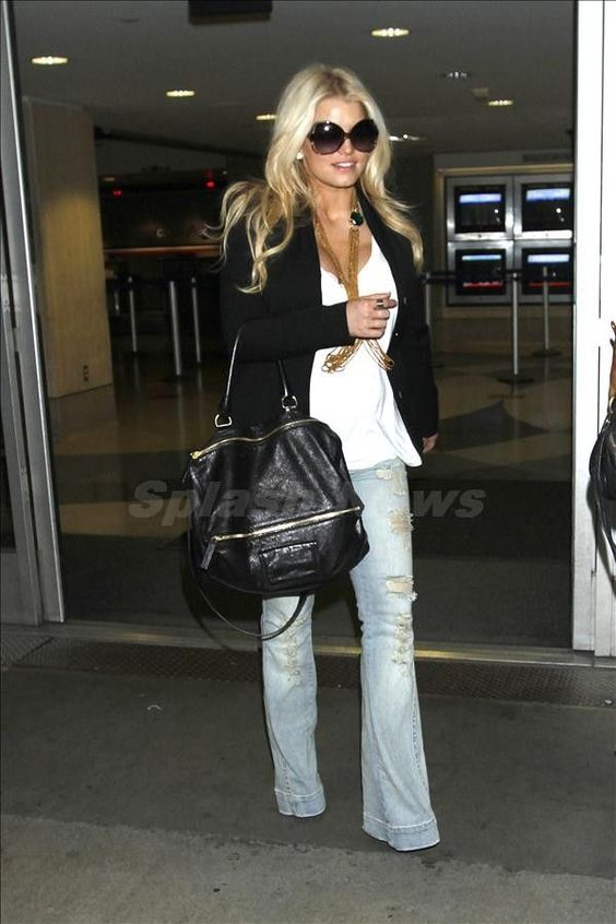 jessica simpson flare denim - Google Search: