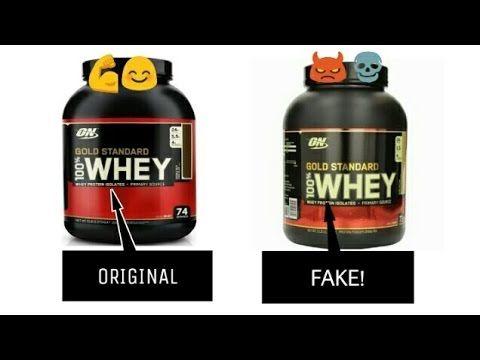 Identify Fake Protein On Gold Standard Whey Protein Authentication Checks Youtube Gold Standard Whey Protein Gold Standard Whey Whey Protein