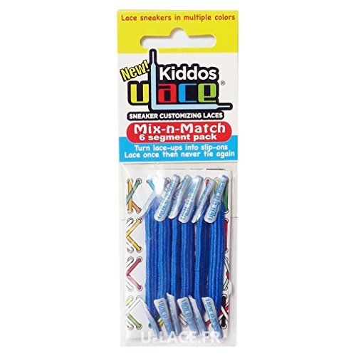 U-LACE - KIDDOS Lacets élastiques pour enfants de 3 à 7 ans - 14 Couleurs disponibles - Filles Garçons (BRIGHT BLUE - Bleu Fluo Flashy) U-Lace https://www.amazon.fr/dp/B00Z0BX6VE/ref=cm_sw_r_pi_dp_xxHexbFHTV28E