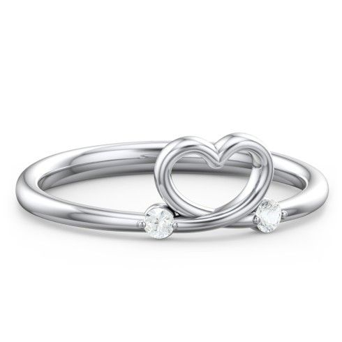 10k Yellow Gold Shape Of My Heart Ring Jewlr In 2020 Love Ring Gold Price Gemstone Rings