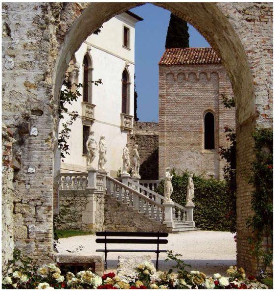 Susegana Treviso Veneto, Castello di San Salvatore sec. XIV