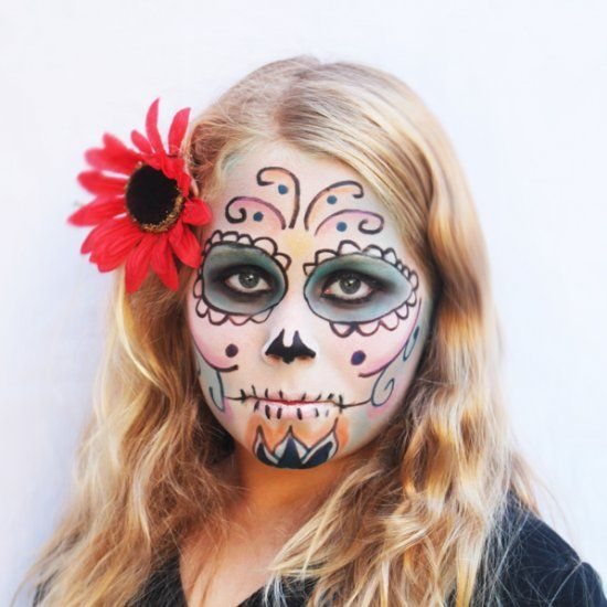 Ornamental, intricate and bold, one of this season's most popular costume ideas is the Day of the Dead sugar skull. Follow this tutorial.
