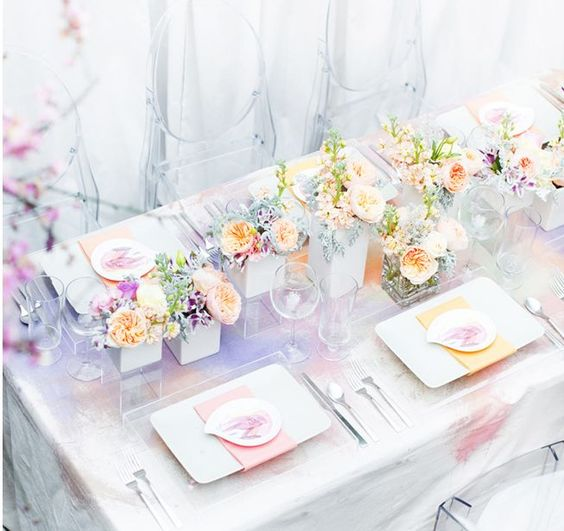 REVEL: Watercolor Inspired Tablescape