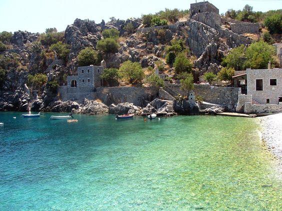 Alipa beach, Lakonia pref. (Peloponnese)
