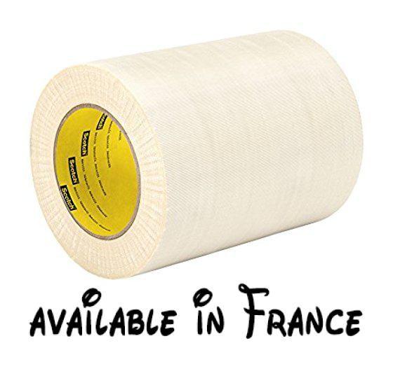B00ms1q0v2 Tapecase 27144cm X 60yd Chiffon En Verre Blanc Ruban Adhesif Electrique 178cm Epais 1524cm Longueur 144cm Largeu Ruban Tissu Ruban Adhesif Chiffon