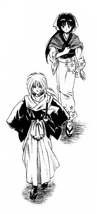 Kenshin & Kaoru, #Manga #RurouniKenshin #KamiyaKaoru: