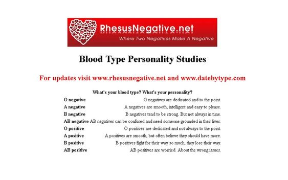 Kunnen RH negatieve mensen elkaar herkennen?