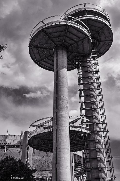 New York State Pavilion - Queens, New York by Phil Marion
