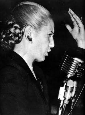 """I will return and I will be millions""  Eva Duarte de Peron, Evita."