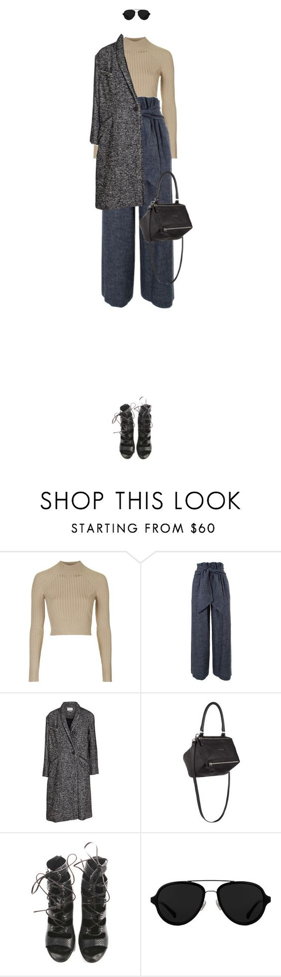 """Untitled #2587"" by mitchelcrandell ❤ liked on Polyvore featuring Topshop, MSGM, Étoile Isabel Marant, Givenchy, Balmain, 3.1 Phillip Lim, women's clothing, women's fashion, women and female"