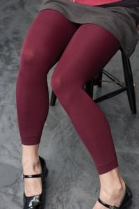 Leggings! I like to wear leggings instead of tights because they last MUCH longer. I could use any color, size XL - XXL