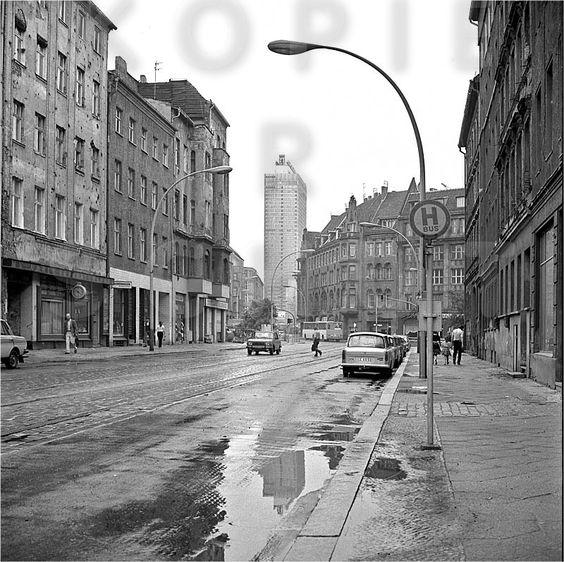 Weinmeisterstrasse 1987 - es war wirklich alles grau und öde, ich habe es fast vergessen