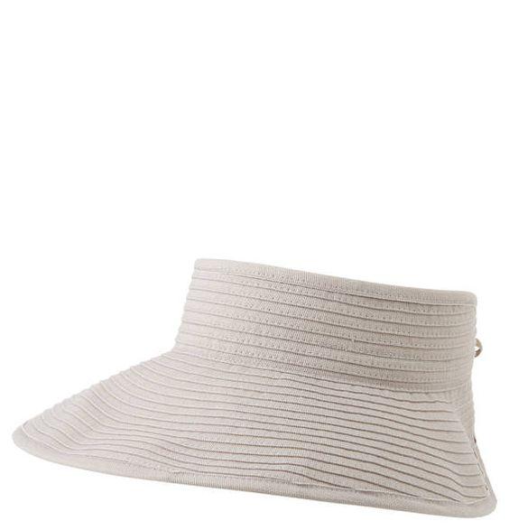 Moderner #Visor #Hut der Marke #LOEVENICH für #Damen mit extra breitem Schirm.