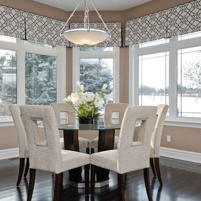 Our top 5 favorite valences bay window treatments for Bay kitchen window treatment ideas