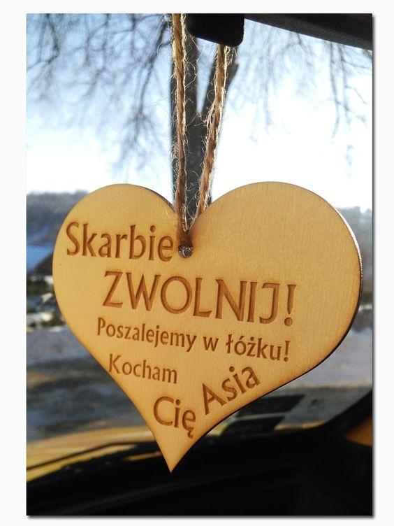 Zawieszka Do Auta Prezent Walentynki Dzien Mamy Gifts Gifts For Him Diy And Crafts