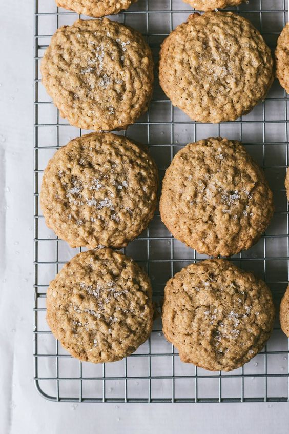 Browned Butter Oatmeal Cookies