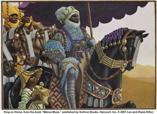 Mansa Musa, a great ruler of the Mali Empire.