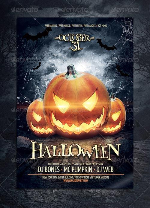 Best Images About Halloween Flyer On   The Flyer