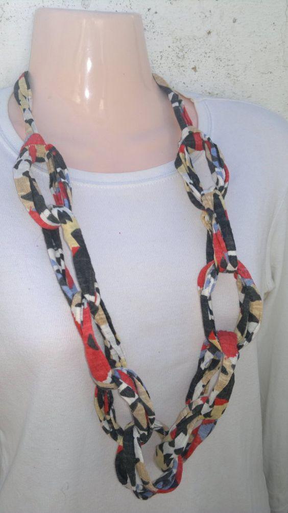 Trapillo and collars on pinterest - Como hacer trapillo ...