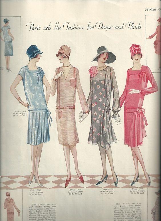 """Seite 22. """"Paris setzt Mode für Vorhänge und Zöpfe"""" 1927.  #paris #seite #setzt #vorhange #zopfe,"""