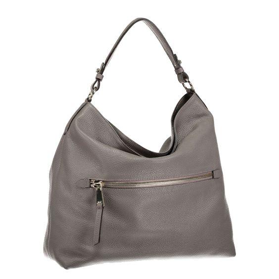 ABRO Handtasche 'Adria' aus Leder ► Der perfekte Begleiter für einen Shoppingtag: die Handtasche ADRIA von ABRO. Aus genarbtem Leder gefertigt überzeugt das Model mit klassischem Design, welches sich in viele Looks integrieren lässt. Dank abnehmbarem Trageriemen lässt sich das Stück auch praktisch über der Schulter tragen. Eine schlichte Ergänzung für modische Casuallooks.  Maße: 35 x 37 x (H x B x T)