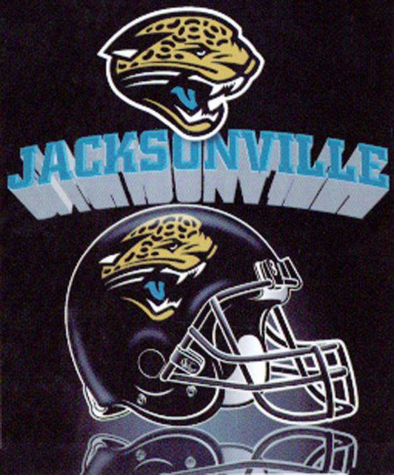 Jacksonville Jaguars Grid Iron 50x60 NFL Fleece Throw - Free Shipping in the Continental US!
