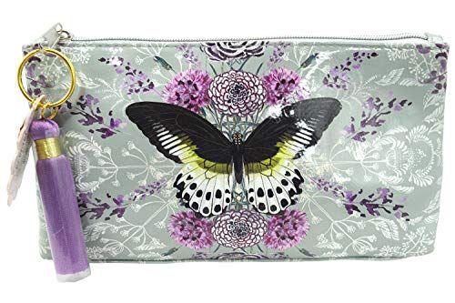 Papaya Art Love Flower bouquet Art Oil Cloth Clutch Bag Travel Bag