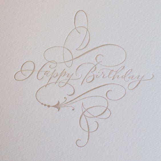 Pg happy birthday calligraphy bakedoctor